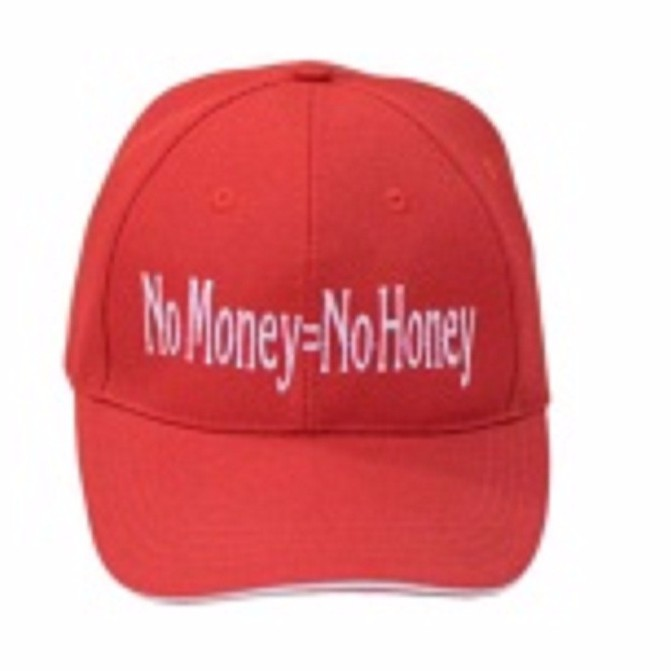 Nón lưỡi trai No Money=No Honey