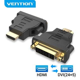Đầu chuyển đổi VENTION chuyển HDMI sang DVI hai chiều đầu mạ vàng cho Laptop thumbnail