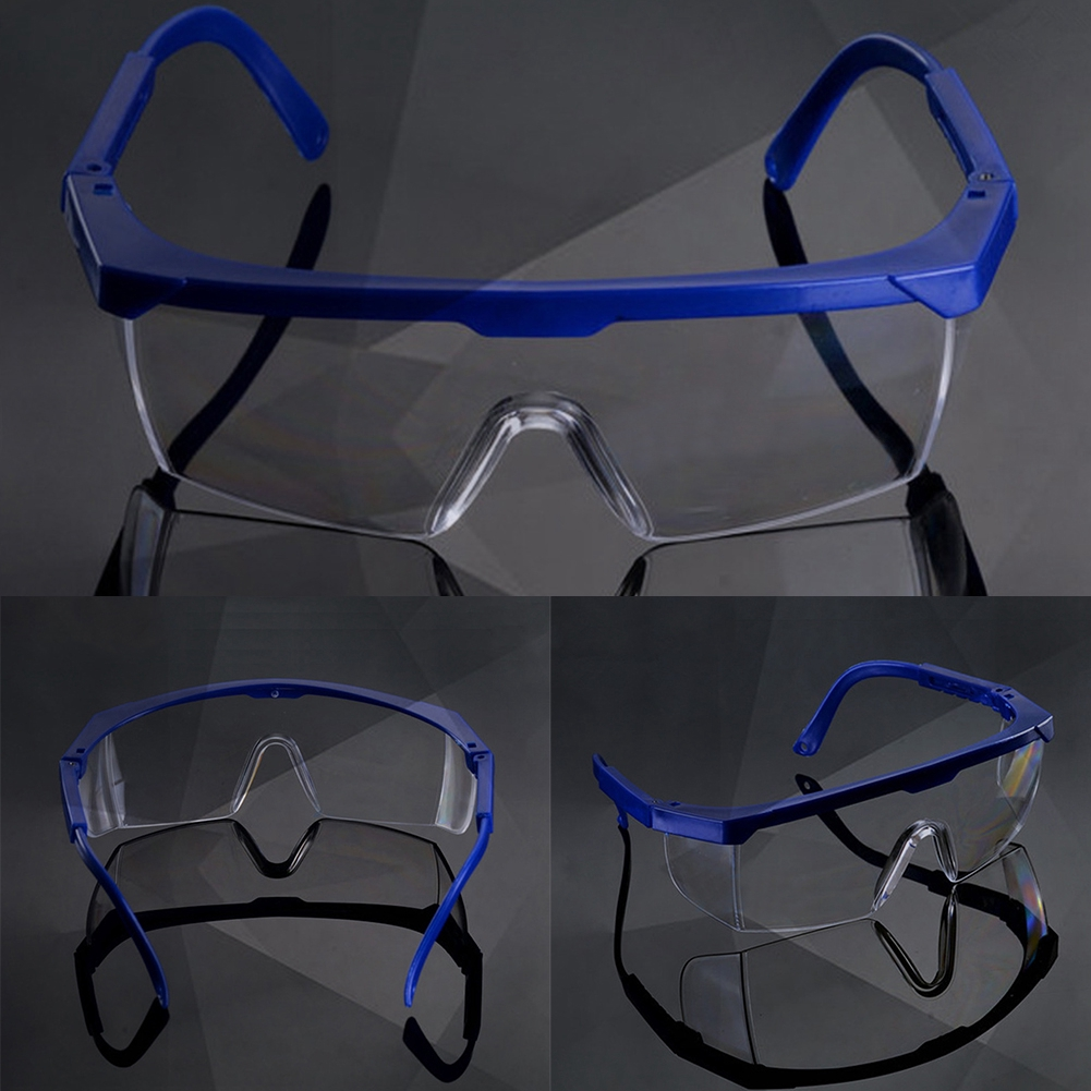 Protective Glasses Dust-tight Windproof Women Men Safety Goggles Reinforced PC Material Labor