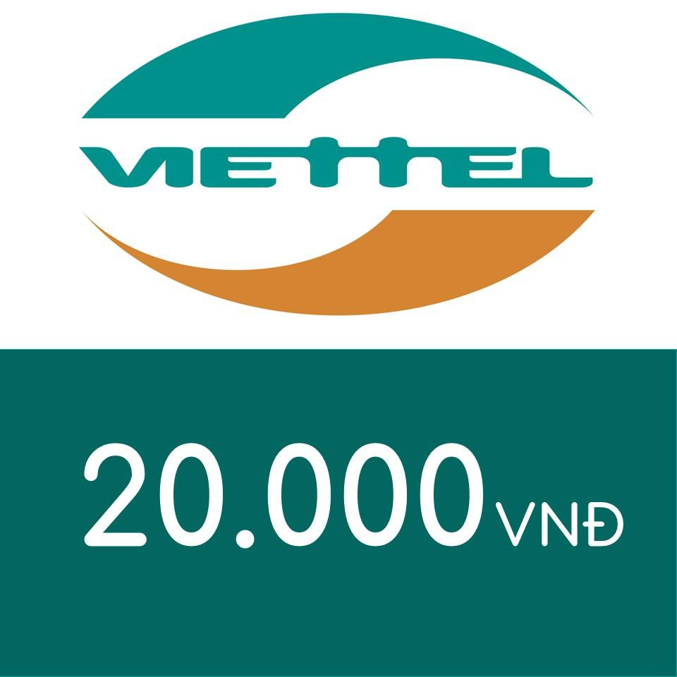 Mã thẻ điện thoại Viettel 20K