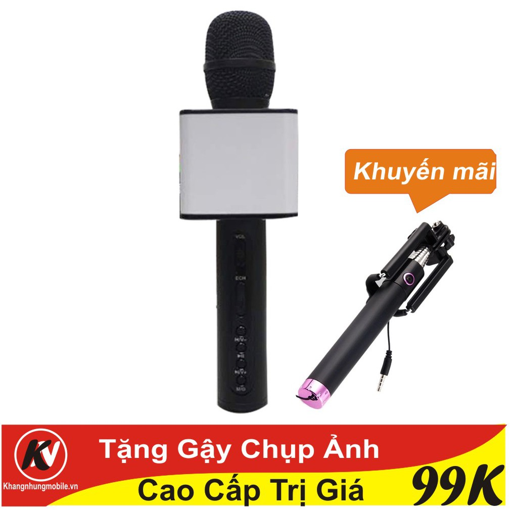 Combo Mic hát karaoke Bluetooth SD-08 cao cấp (Đen) Kim Nhung + Gậy chpj ảnh - 3389386 , 1083432473 , 322_1083432473 , 290000 , Combo-Mic-hat-karaoke-Bluetooth-SD-08-cao-cap-Den-Kim-Nhung-Gay-chpj-anh-322_1083432473 , shopee.vn , Combo Mic hát karaoke Bluetooth SD-08 cao cấp (Đen) Kim Nhung + Gậy chpj ảnh