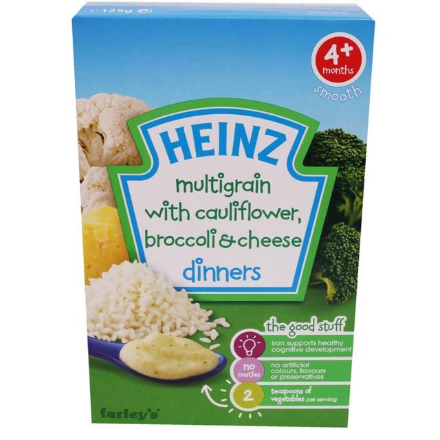 Bột ăn dặm Heinz súp lơ,bông cải