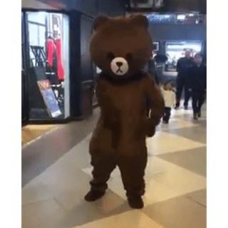 Cosplay Bộ Gấu Brown