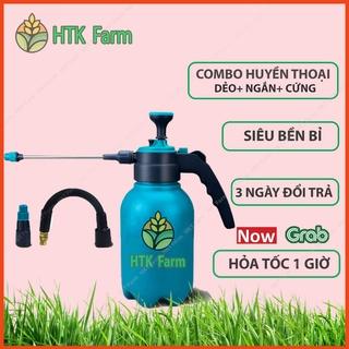Bình Xịt Tưới Cây Huyền Thoại HKT Farm - Bình Phun Sương Vòi Tưới Dài Tới 17cm Xoay 360 Độ - Chế Độ Tự Động Tưới thumbnail
