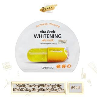 [Phân Phối Chính Thức] Mặt Nạ Viên Thuốc Banobagi Màu Vàng Dưỡng Sáng Da Whitening Jelly Mask Dành Cho Mọi Loại Da thumbnail