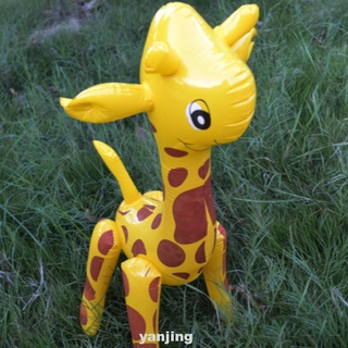 Cartoon Children Giraffe Design Novelty PVC Party Inflatable Toy