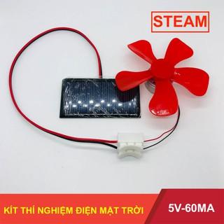 Bộ Kit thí nghiệm giải thích nguyên lý pin mặt trời 5V – 60mA – LK0194