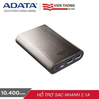 Pin sạc dự phòng ADATA PV110 10400mAh - Hãng phân phối chính thức
