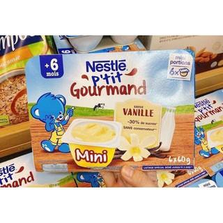 [Mã MKBCS01 hoàn 8% xu đơn 250K] [T6 2021] Lốc 6 Hộp Váng Sữa Nestle Pháp 60g 6 date mới nhất thumbnail