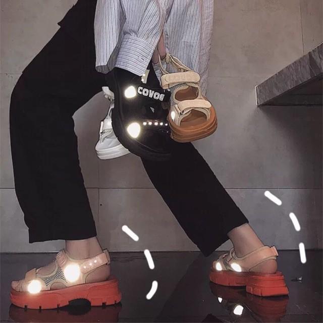 [ỎRDER] sandal ULZZANG phát quang cực chất