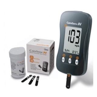 Máy đo đường huyết Caresen N tặng kèm 25 que+ 10 kim chích máu