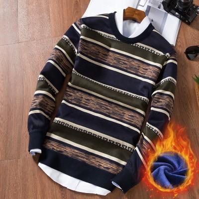 Áo len lót lông cho bố siêu ấm đẹp - Áo len mùa đông