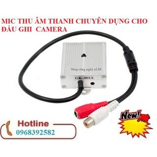 Mic thu âm thanh cực nhạy cho hệ thống camera giám sát – có video hướng dẫn sử dụng