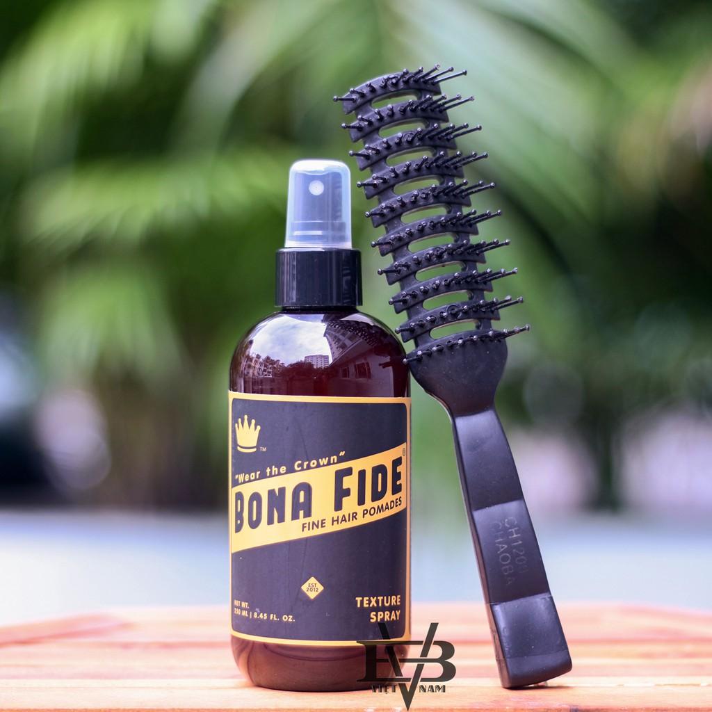 [Mã COSFSST6 hoàn 10% xu đơn 150K] Chai xịt tạo phồng tóc Bona Fide Texture Spray 250ml Mỹ + Tặng...