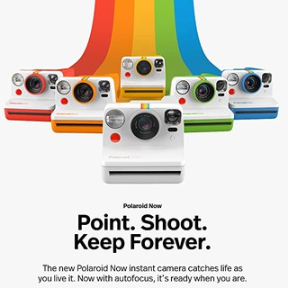 Polaroid Now Camera - Máy chụp ảnh lấy ngay Polaroid Now - Chính hãng - Bảo hành 1 năm thumbnail