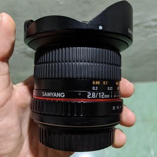 Samyang 12mm F2.8 ED FISH - EYE Canon Full Frame thumbnail