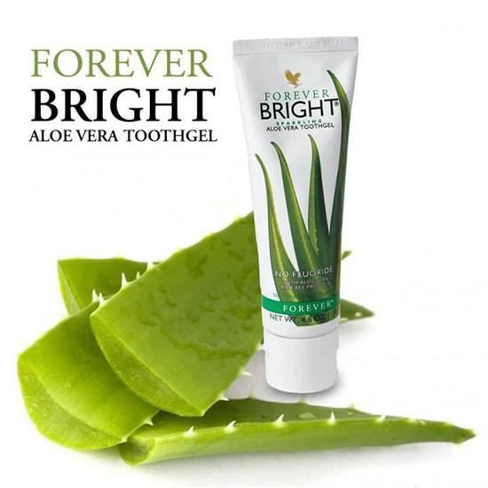 Kem đánh răng lô hội cho người Viêm lợi,sâu răng forever bright
