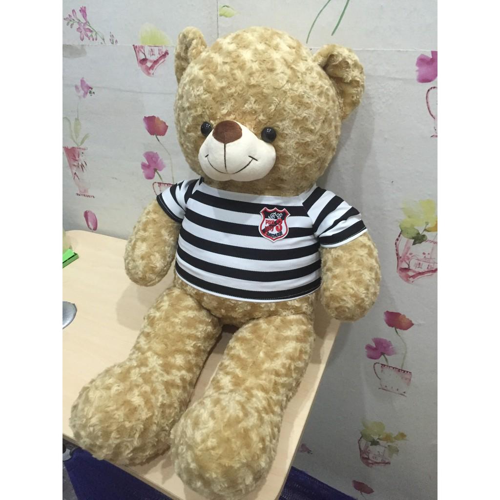 Gấu bông Teddy khổ 1m màu cafe sữa