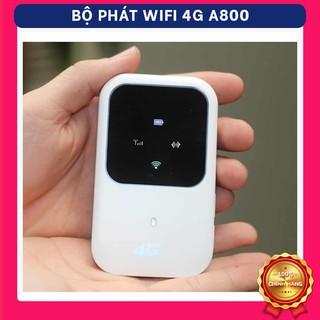 Bộ Phát Wifi 4G LTE/ 3G A800 Từ Sim 4G Pin Khủng 2400mah Tốc Độ 150Mps Pin Trâu Hàng Chính Hãng, Bảo Hành Đổi Mới 100%