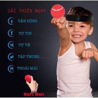 Bóng phản xạ đeo đầu – bóng đấm phản xạ cho trẻ giúp trẻ hoạt động tích cực – đồ chơi cho trẻ