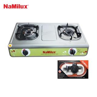 Combo Bếp gas Namilux NA-702AFM + Van điều áp ngắt gas tự động Namilux NA-345S-VN