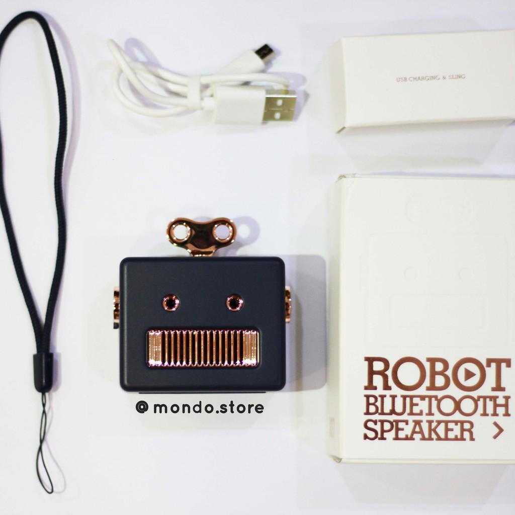 [Bảo Hành 3 Tháng] Loa Bluetooth Speaker Robot Mini chính hãng xiaomi 3 life