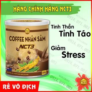 Cà Phê Nhân Sâm - Giảm Cân, Tỉnh Táo NCT3 ( Hàng chính hãng công ty NCT3 ) thumbnail