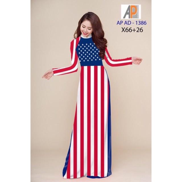 Vải áo dài Lá cờ