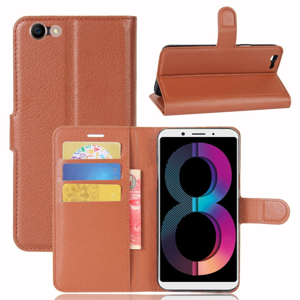 Oppo A1 A83 F1 A35 A77 A73 A75 Luxury Wallet Flip Leather Case Cover