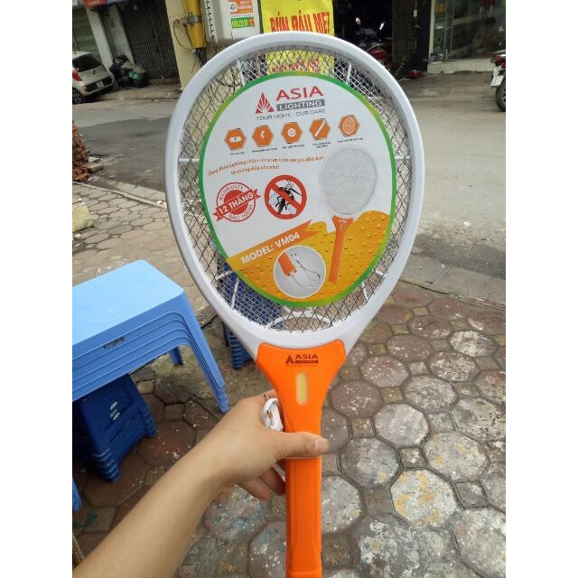 Bảo hành 12 tháng Vợt muỗi cao cấp asia hàng Việt Nam