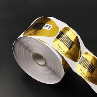 Set 500 miếng dán tạo form làm bột đắp gel đầu móng tay - Nail Store thumbnail