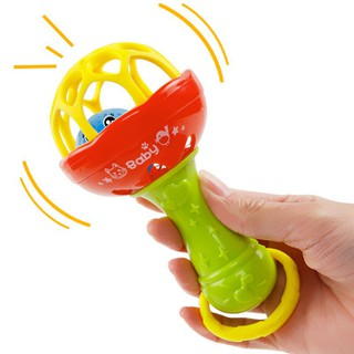 huixin Baby Newborn Toy Rattle Baby-bed Mobile Bed Bell Plastic Hand Bell