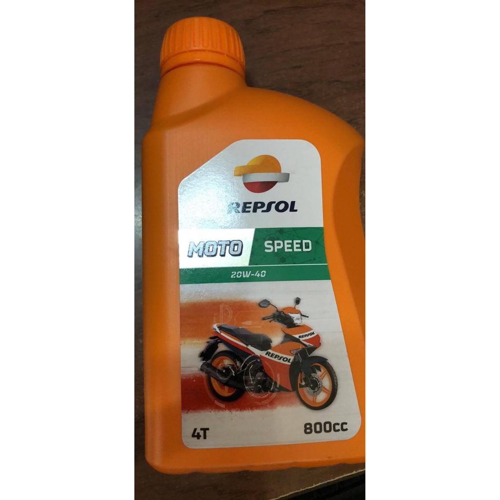 Nhớt Repsol speed 20w40 0,8L