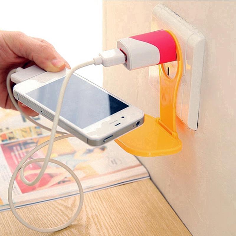 Giá đỡ sạc điện thoại có thể gập lại tiện dụng