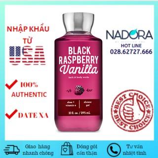 Sữa Tắm Bath & Body Works - Black Raspberry Vanilla Shower Gel 295ml. thumbnail