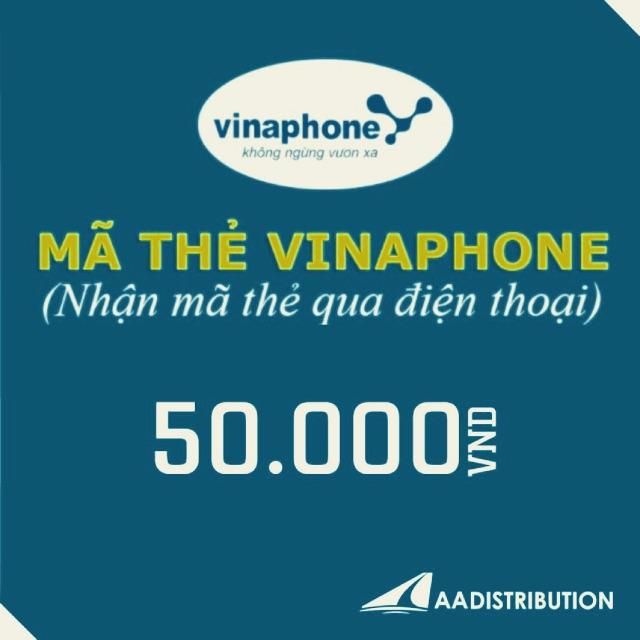 Mã thẻ/Nạp tiền Vinaphone 50k