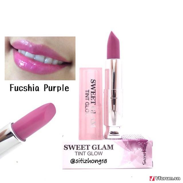 Son dưỡng môi có màu Secret Key Sweet Glam Tint Glow 3.5g Pusscia Purple (Hồng tím) - 3047843 , 1193879318 , 322_1193879318 , 210000 , Son-duong-moi-co-mau-Secret-Key-Sweet-Glam-Tint-Glow-3.5g-Pusscia-Purple-Hong-tim-322_1193879318 , shopee.vn , Son dưỡng môi có màu Secret Key Sweet Glam Tint Glow 3.5g Pusscia Purple (Hồng tím)