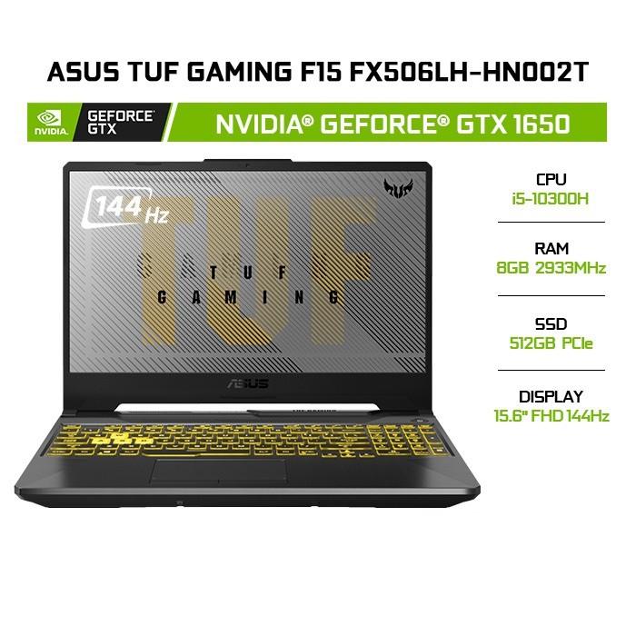 Laptop ASUS TUF Gaming F15 FX506LH-HN002T i5-10300H | 8GB | 512GB |GTX 1650| 15.6' | W10