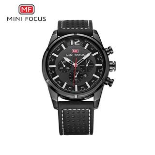 [Tặng vòng tay]Đồng hồ nam Mini Focus chính hãng MF0005G dây da cao cấp thumbnail