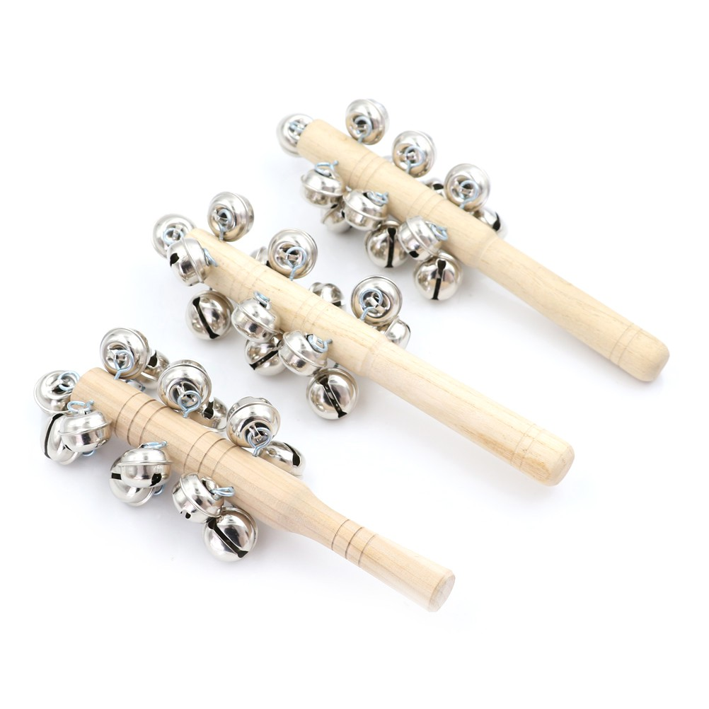 adore Baby Rattle Ring Wooden Toys Musical Instruments 0-12 Months Music Education craving