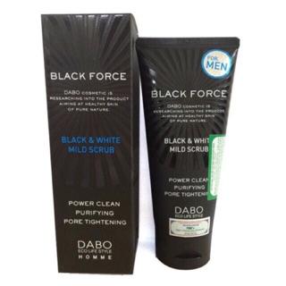 [Chính Hãng] Sữa Rửa Mặt Cho Nam Dabo Black Force For Men thumbnail