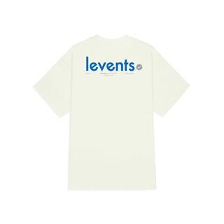 Hình ảnh Áo thun LEVENTS Popular Logo/ Cream Blue-1