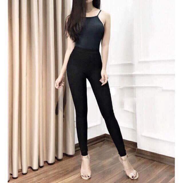 Quần legging Warm co giãn 4 chiều / Quần legging nâng mông cạp cao | SaleOff247
