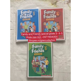Flashcards  Family and Friends Special grade 3-4-5- phiên bản tỉnh