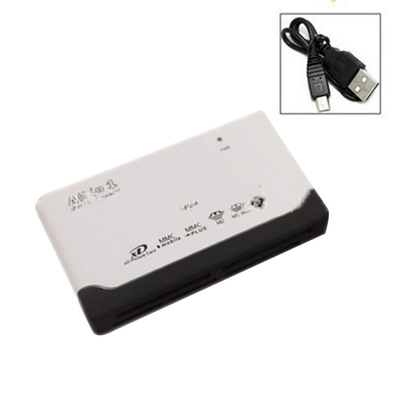 All-in-1 Card Reader USB 2.0 Computer Laptop Smartphone Components Micro SD XD MMC MS CF SDHC TF Memory Cards Accessorie