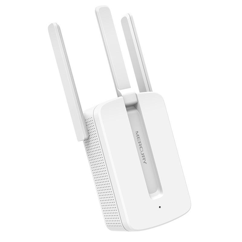 [ GIÁ HUỶ DIỆT] Kích sóng wifi Mercury MW310re 300Mbps 3 râu cực mạnh - BH 1 năm | Kích wifi Mercury MW310re 3 ăng ten