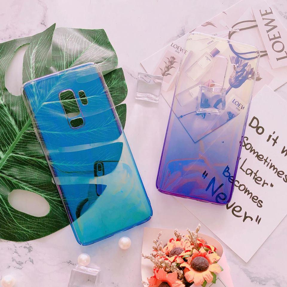 Ốp Samsung S9 Plus trong suốt đổi màu