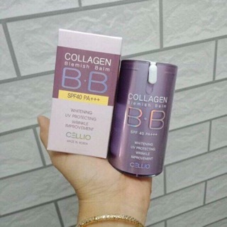 Kem nền BB colagen, kem nền cellio Hàn quốc
