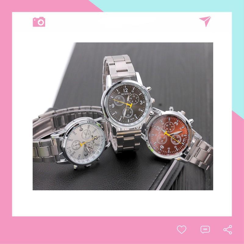 Đồng hồ nam đeo tay Modiya phong cách Hàn Quốc lịch lãm DH103