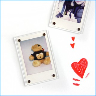 CAIUL Refrigerator Magnetic Stickers Phone Printer Photos Acrylic Photo Frame
